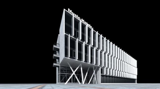建筑设计立面