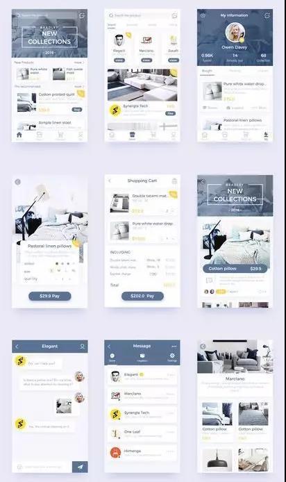 作品集   ui设计是你的作品集更出彩_申请攻略-维欧