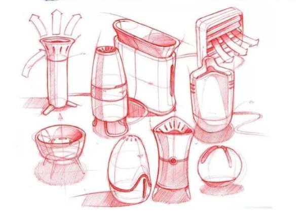 比如说用铅笔,圆珠笔画的线可有虚实,深浅的变化;而钢笔,针管笔画的线